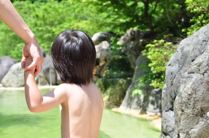 お盆期間中の日帰り入浴営業時間について